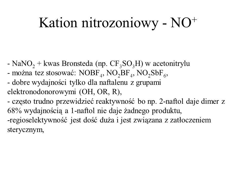 Kation nitrozoniowy - NO+