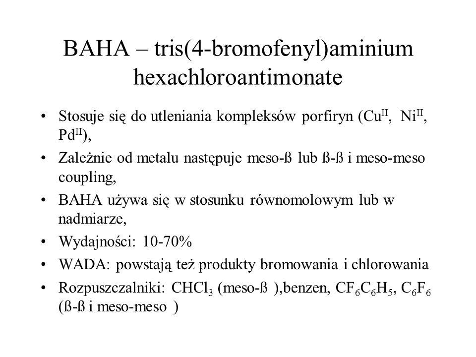 BAHA – tris(4-bromofenyl)aminium hexachloroantimonate