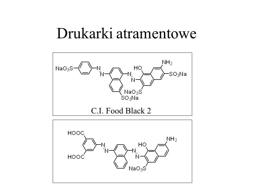 Drukarki atramentowe C.I. Food Black 2