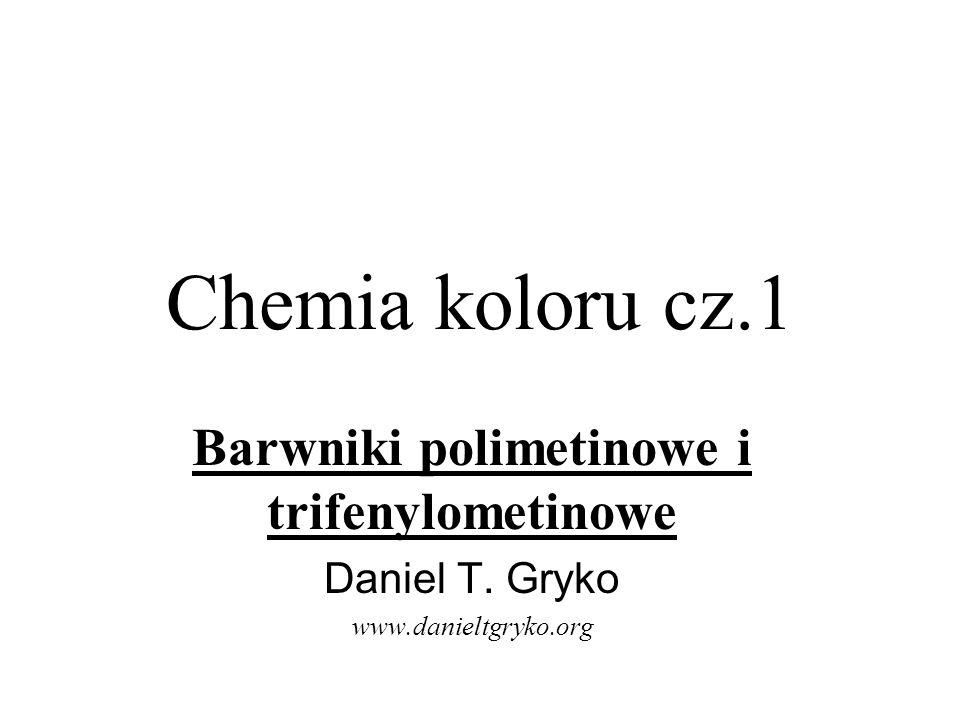 Barwniki polimetinowe i trifenylometinowe