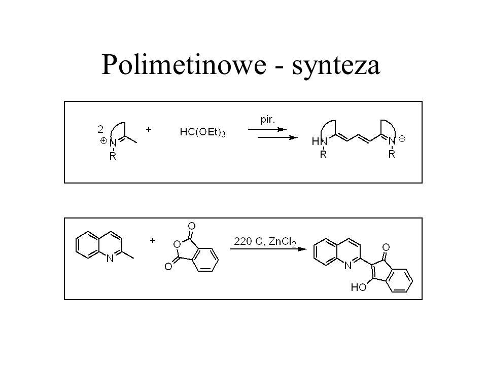 Polimetinowe - synteza
