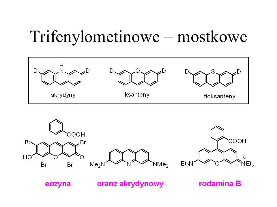Trifenylometinowe – mostkowe