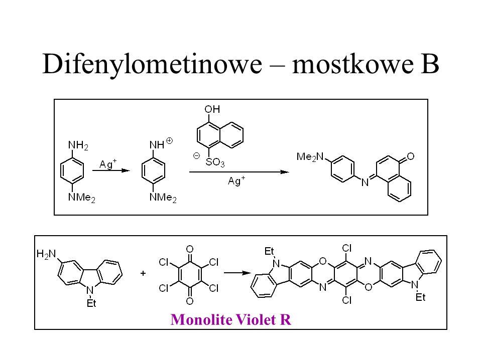 Difenylometinowe – mostkowe B