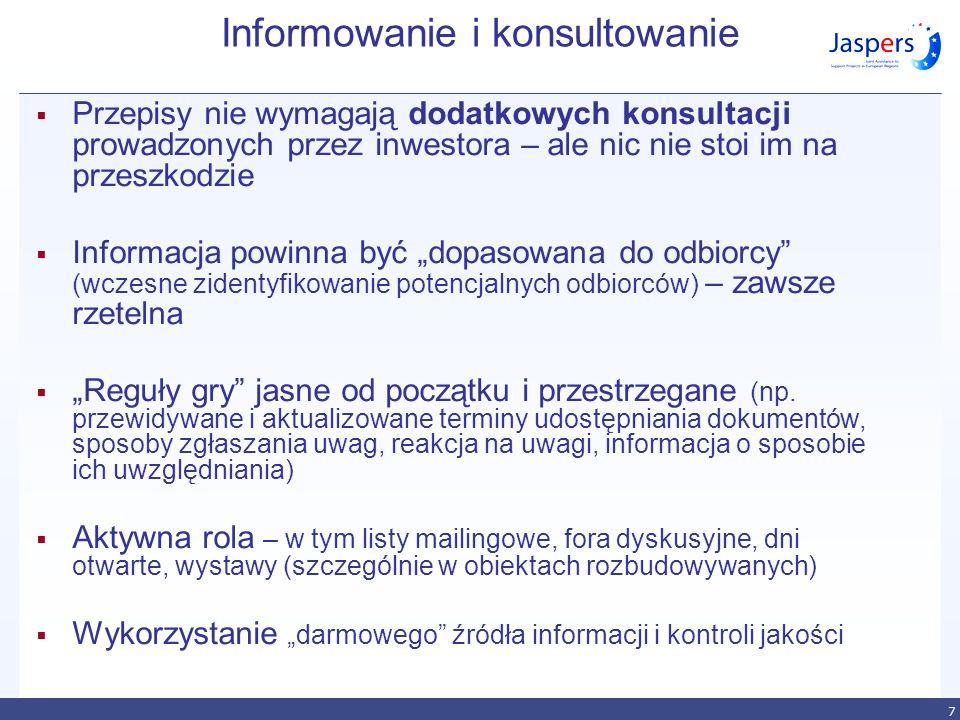 Informowanie i konsultowanie