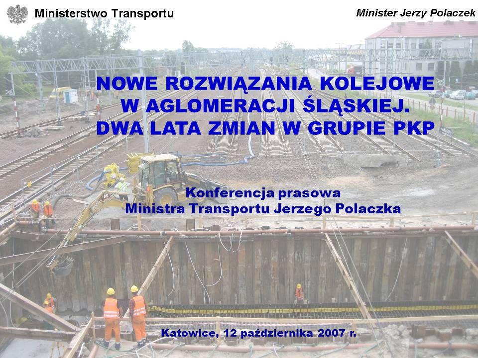 Konferencja prasowa Ministra Transportu Jerzego Polaczka
