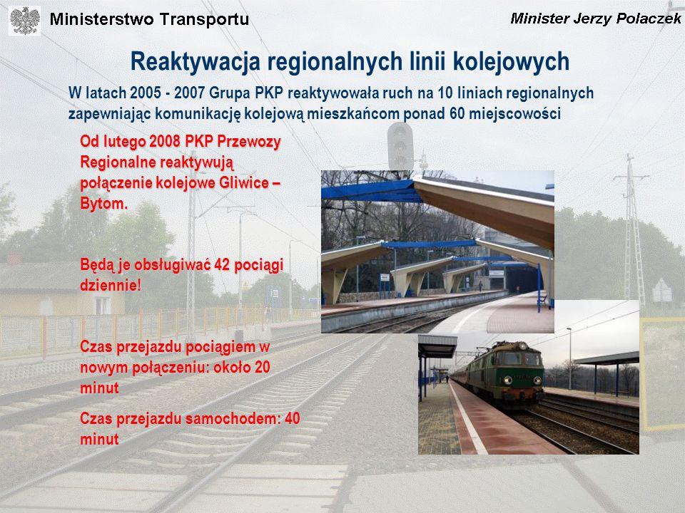 Reaktywacja regionalnych linii kolejowych