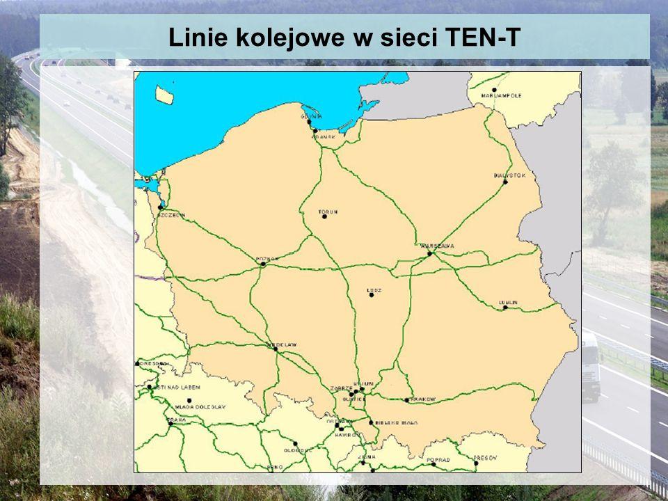 Linie kolejowe w sieci TEN-T