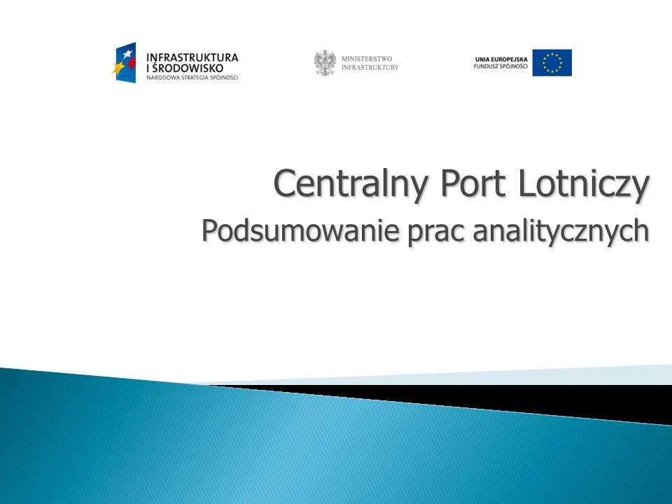 Centralny Port Lotniczy Podsumowanie prac analitycznych
