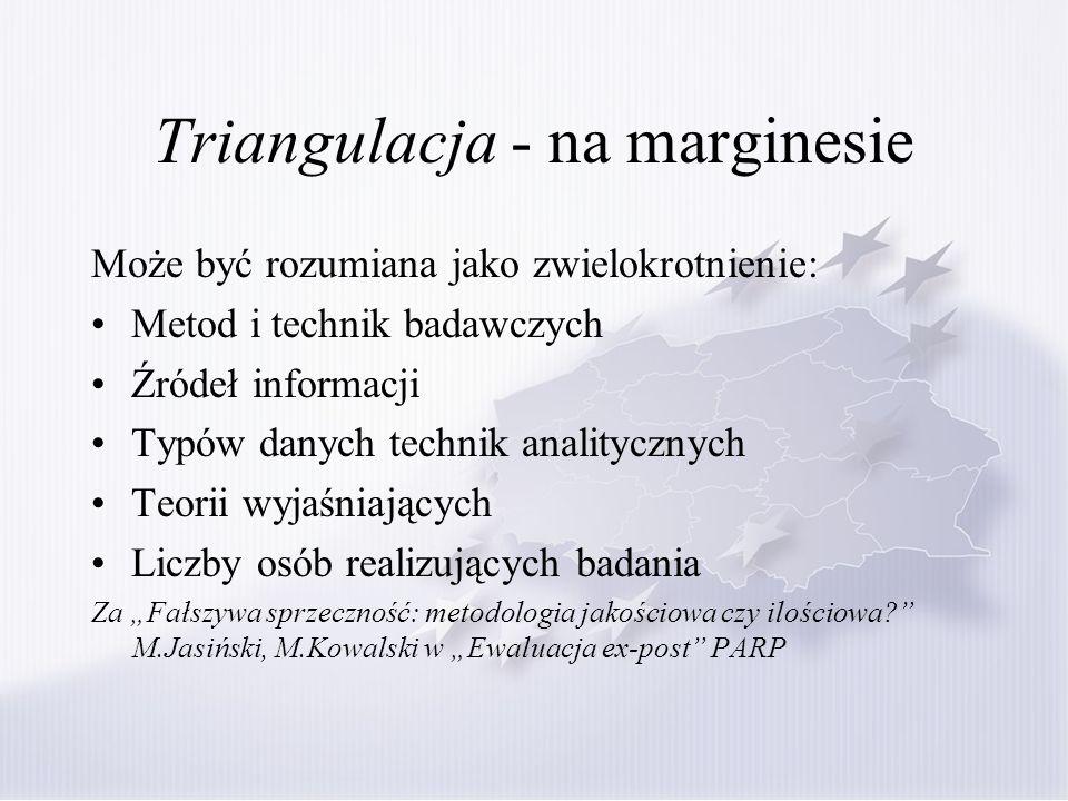 Triangulacja - na marginesie