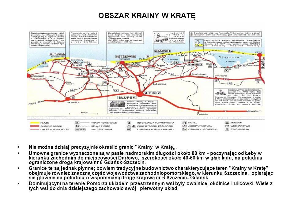 """OBSZAR KRAINY W KRATĘ Nie można dzisiaj precyzyjnie określić granic Krainy w Kratę""""."""