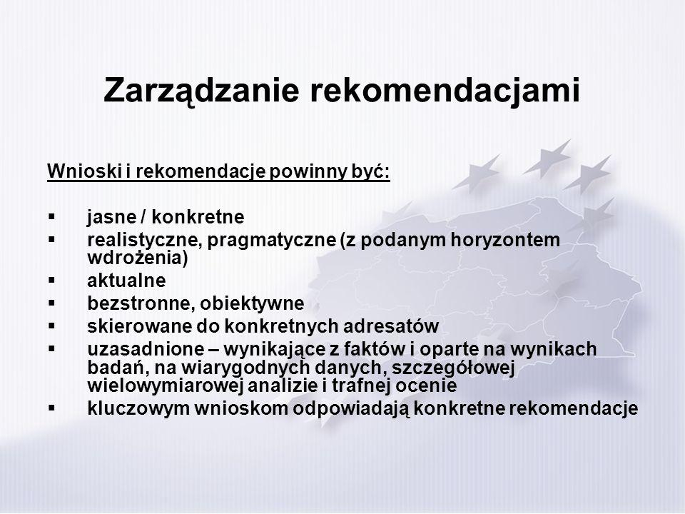 Zarządzanie rekomendacjami