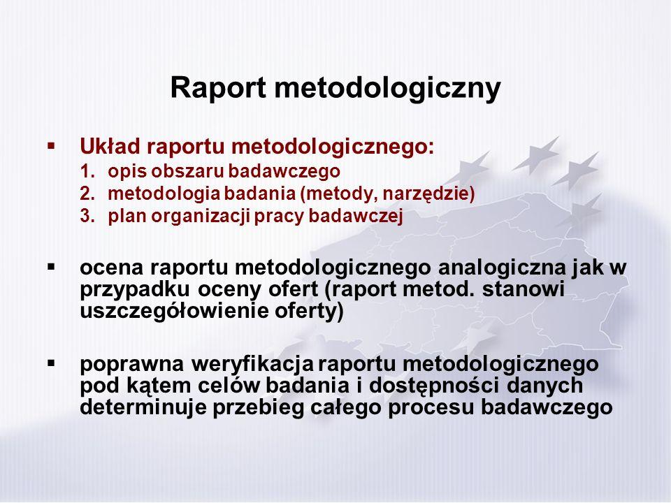 Raport metodologiczny