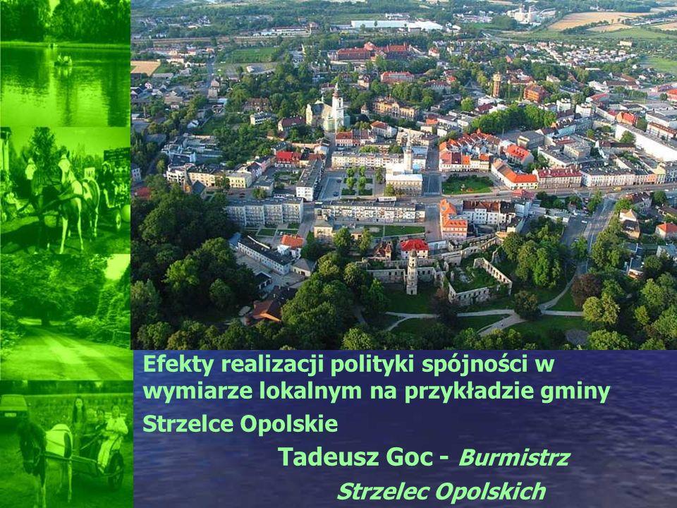Tadeusz Goc - Burmistrz Strzelec Opolskich