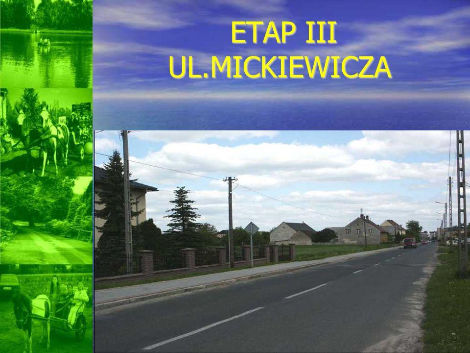 ETAP III UL.MICKIEWICZA