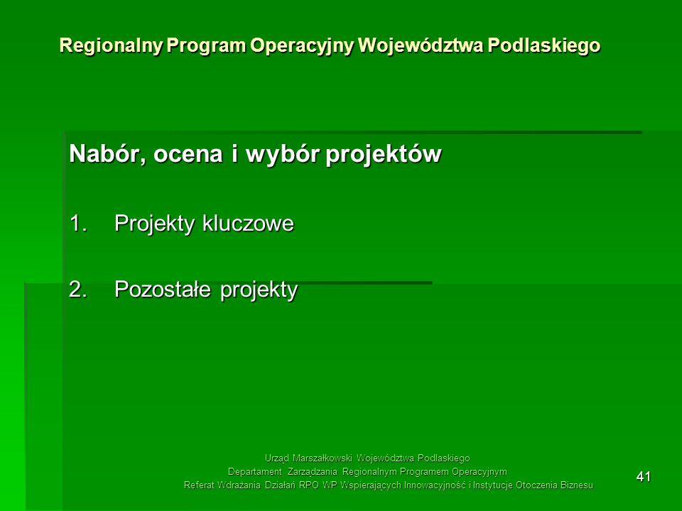 Regionalny Program Operacyjny Województwa Podlaskiego