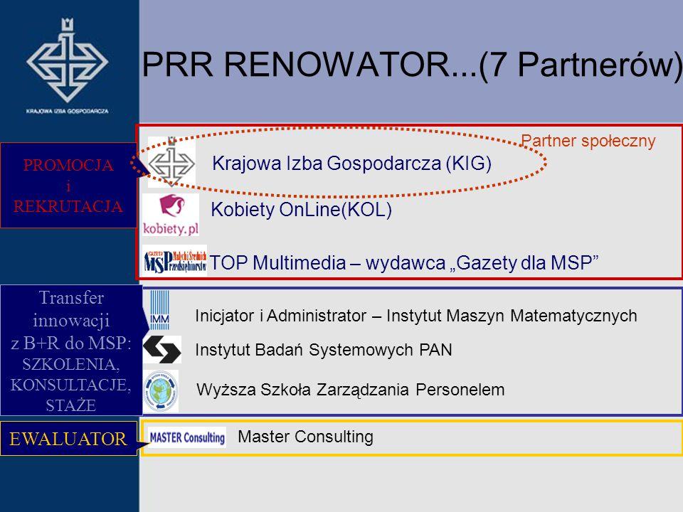 PRR RENOWATOR...(7 Partnerów)