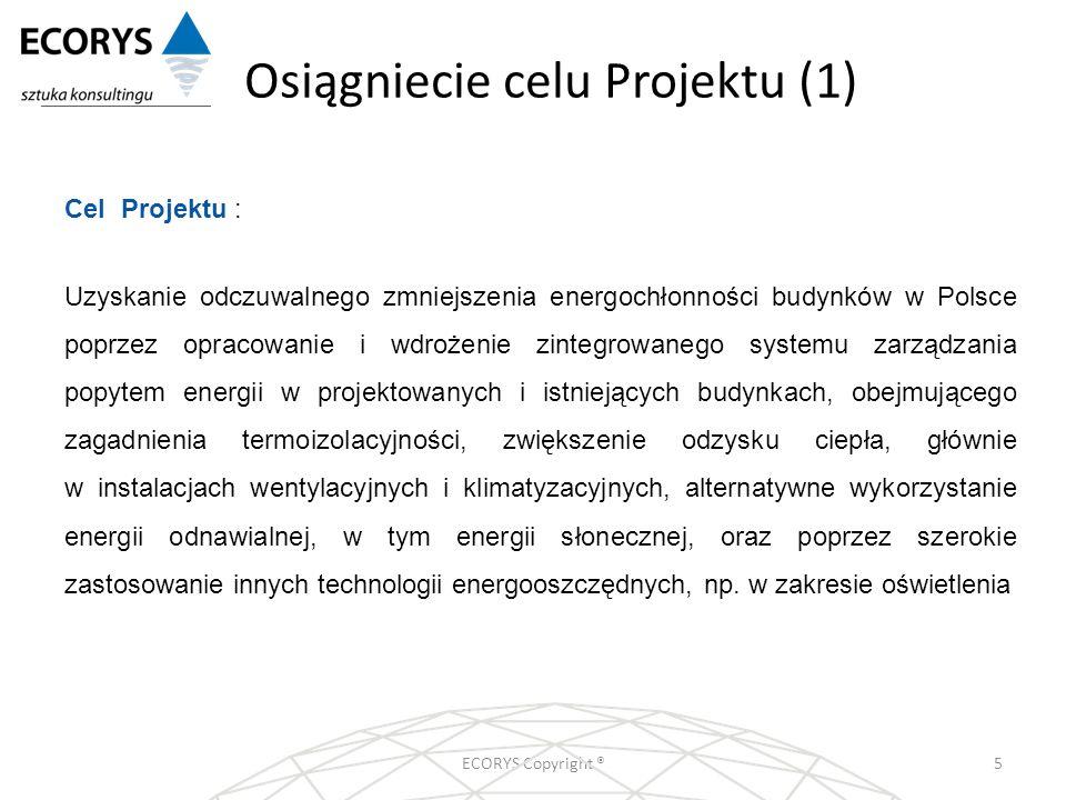Osiągniecie celu Projektu (1)