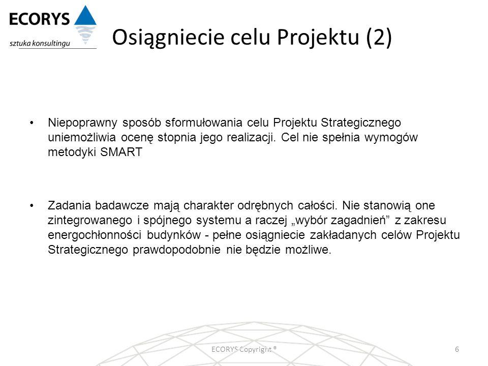 Osiągniecie celu Projektu (2)