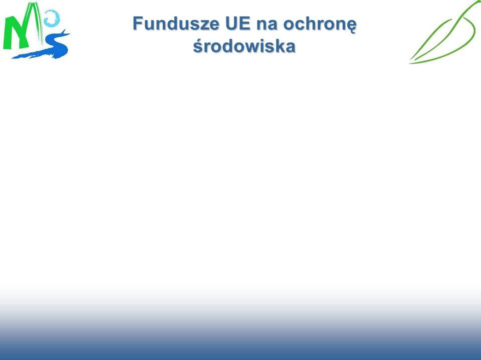 Fundusze UE na ochronę środowiska