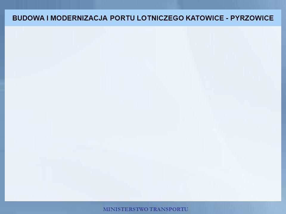 BUDOWA I MODERNIZACJA PORTU LOTNICZEGO KATOWICE - PYRZOWICE