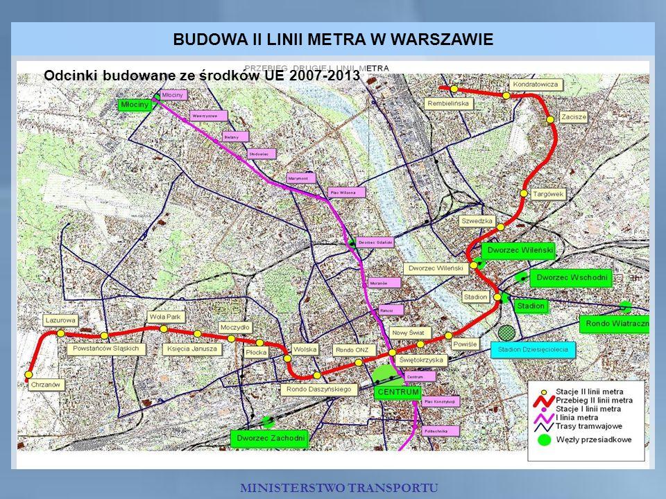 BUDOWA II LINII METRA W WARSZAWIE