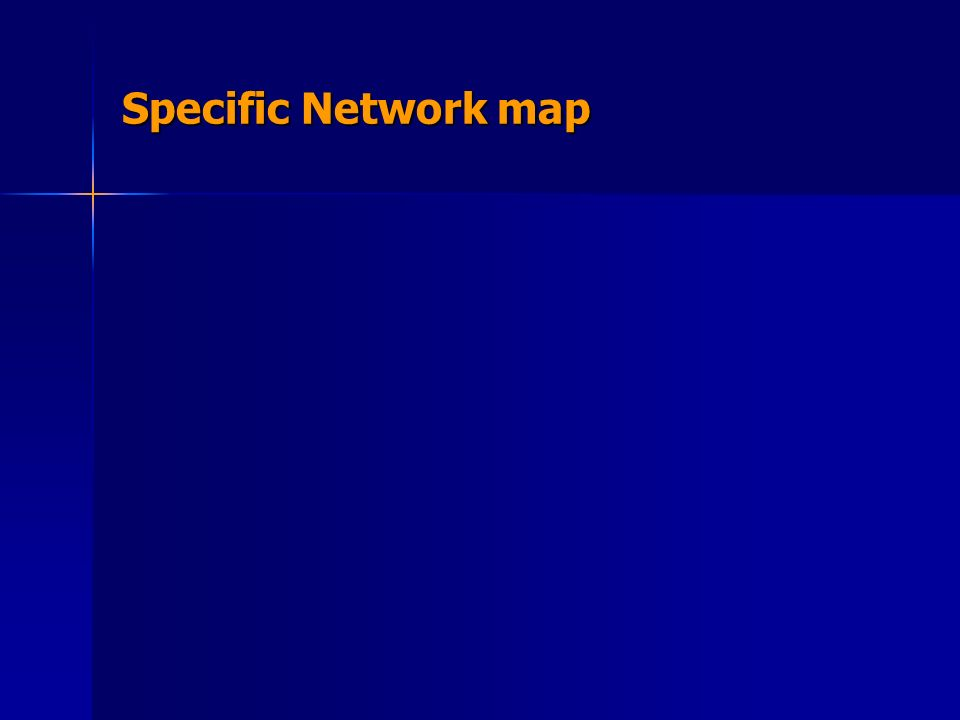 Specific Network map
