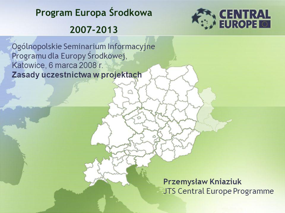Program Europa Środkowa