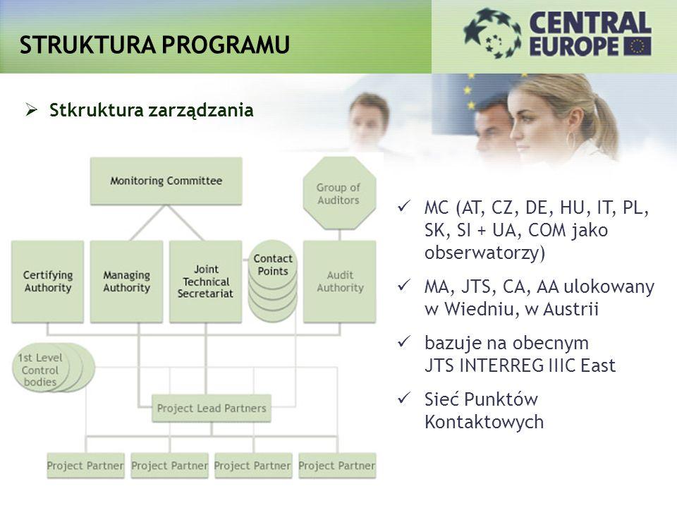 STRUKTURA PROGRAMU Stkruktura zarządzania