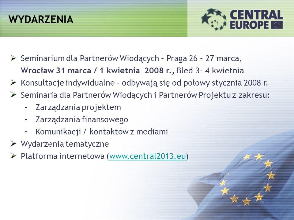WYDARZENIA Seminarium dla Partnerów Wiodących – Praga 26 – 27 marca,