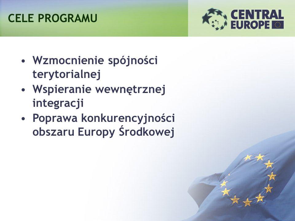 CELE PROGRAMU Wzmocnienie spójności terytorialnej.