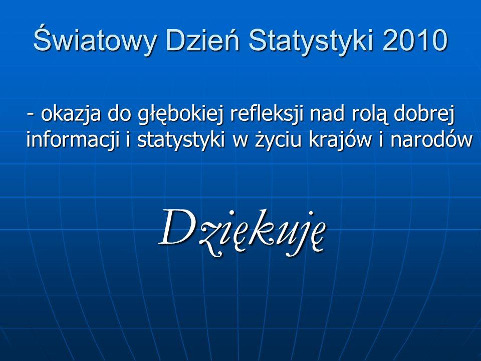 Światowy Dzień Statystyki 2010