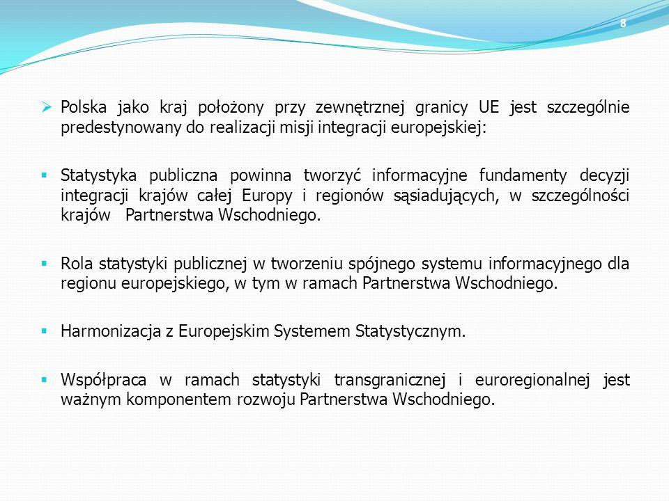 Polska jako kraj położony przy zewnętrznej granicy UE jest szczególnie predestynowany do realizacji misji integracji europejskiej: