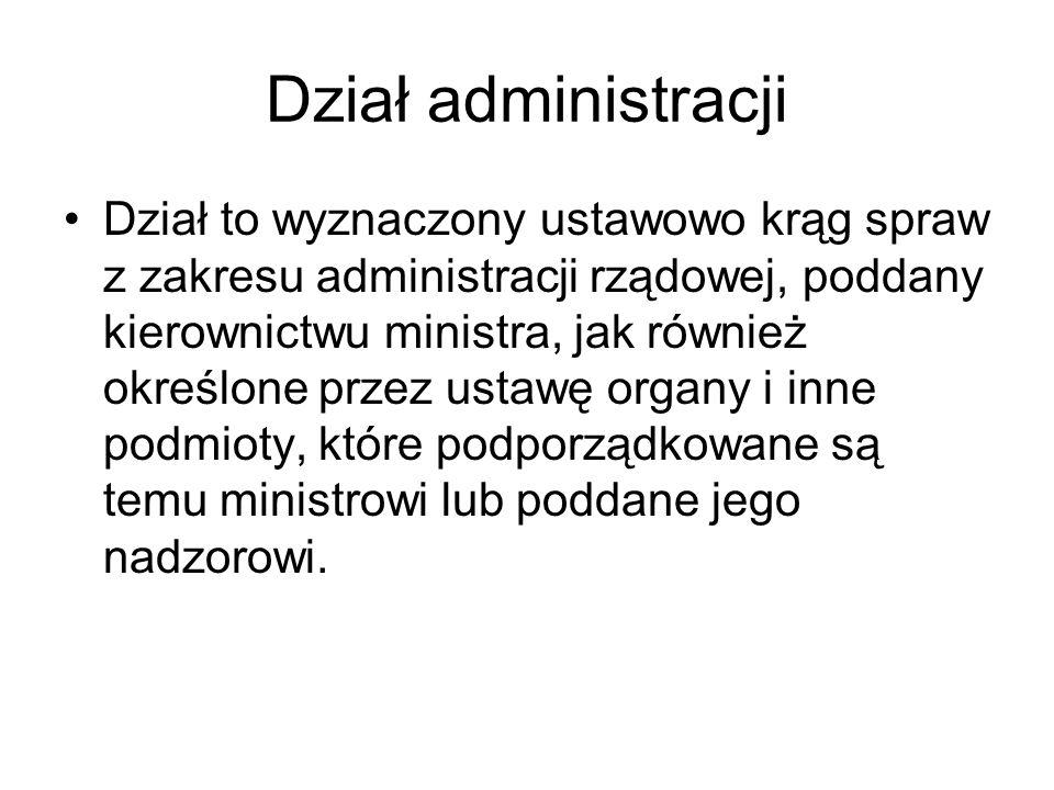 Dział administracji