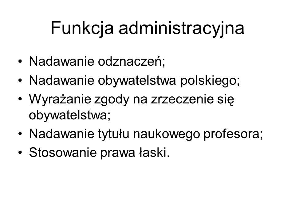 Funkcja administracyjna