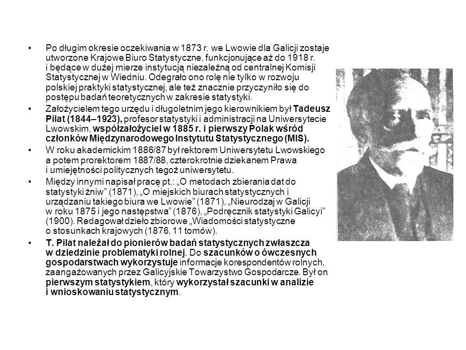 Po długim okresie oczekiwania w 1873 r