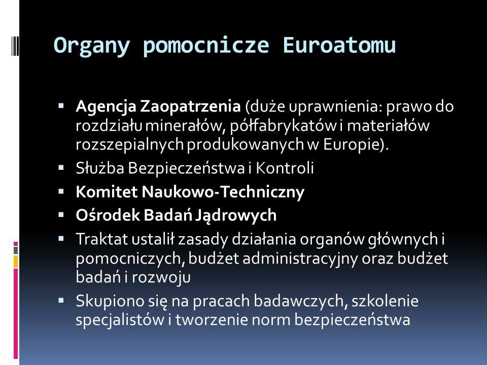 Organy pomocnicze Euroatomu