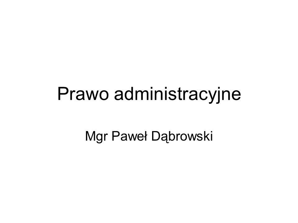 Prawo administracyjne