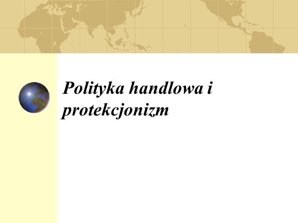 Polityka handlowa i protekcjonizm