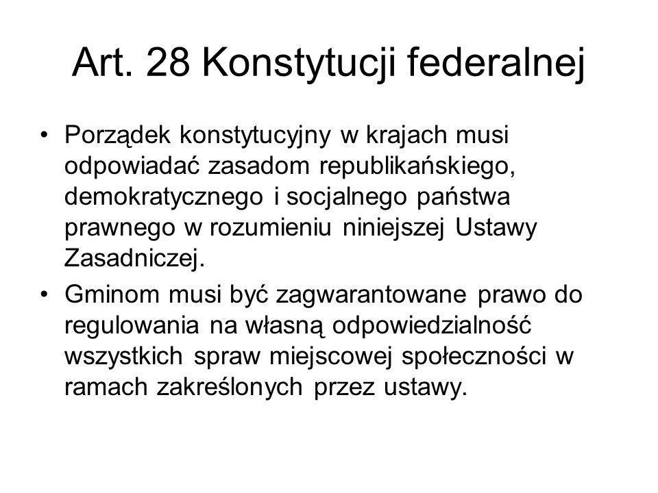 Art. 28 Konstytucji federalnej