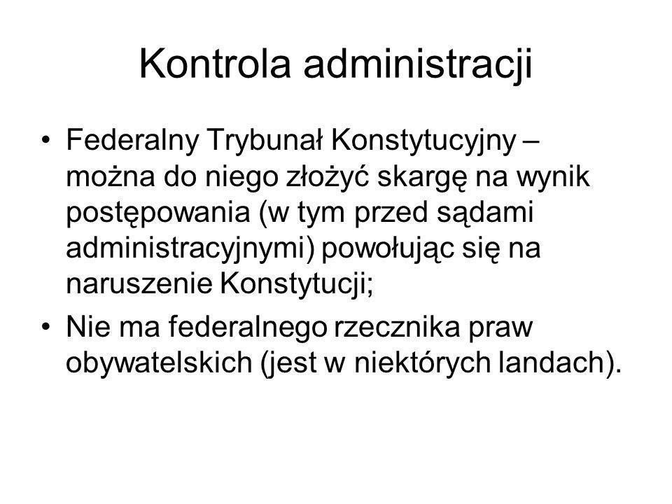 Kontrola administracji