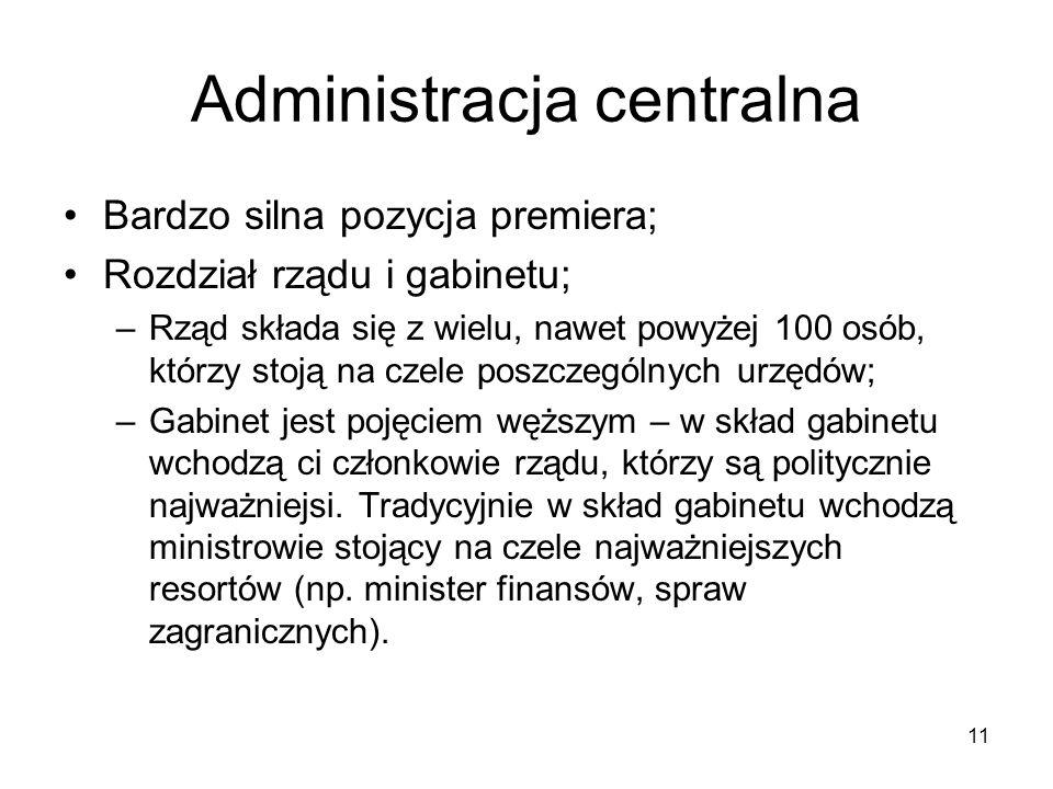 Administracja centralna
