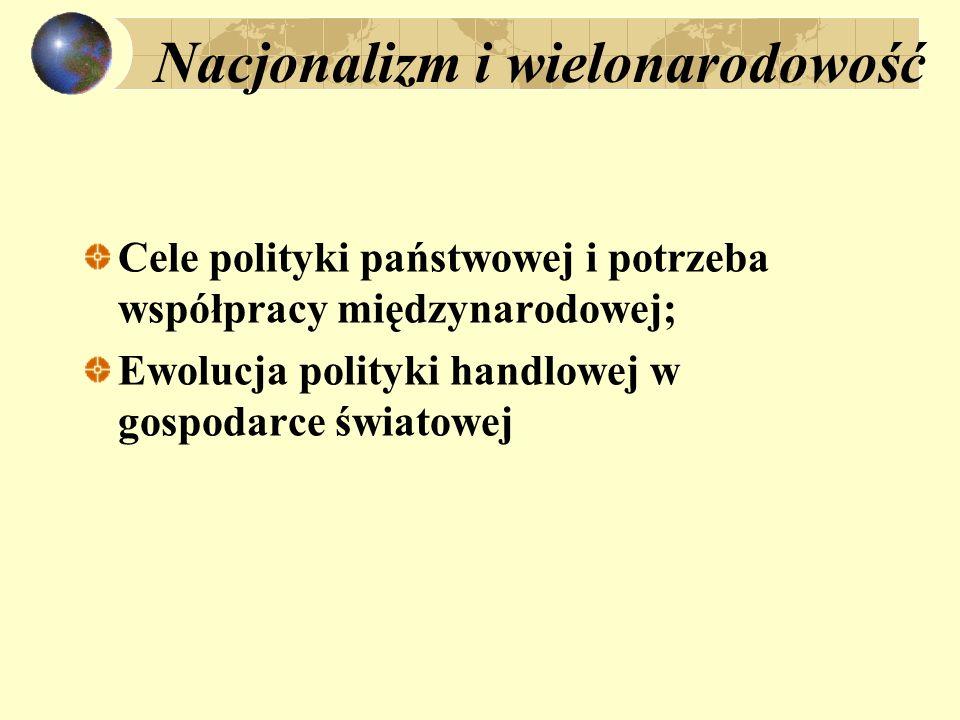 Nacjonalizm i wielonarodowość