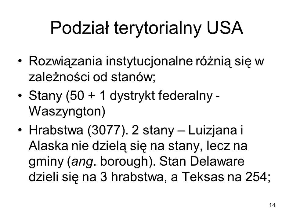 Podział terytorialny USA