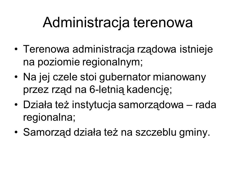Administracja terenowa