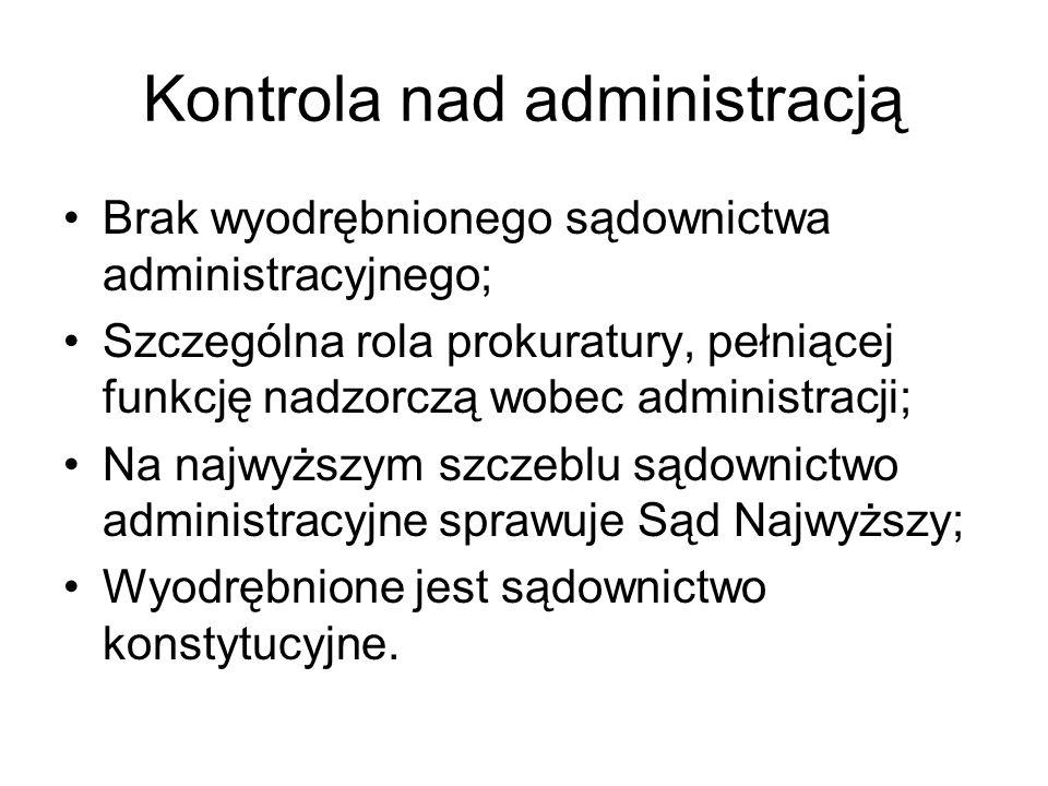 Kontrola nad administracją