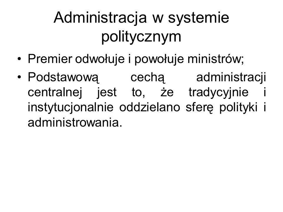 Administracja w systemie politycznym