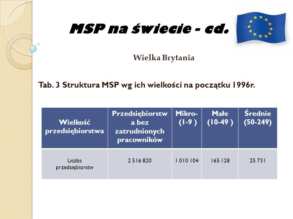 MSP na świecie - cd. Wielka Brytania