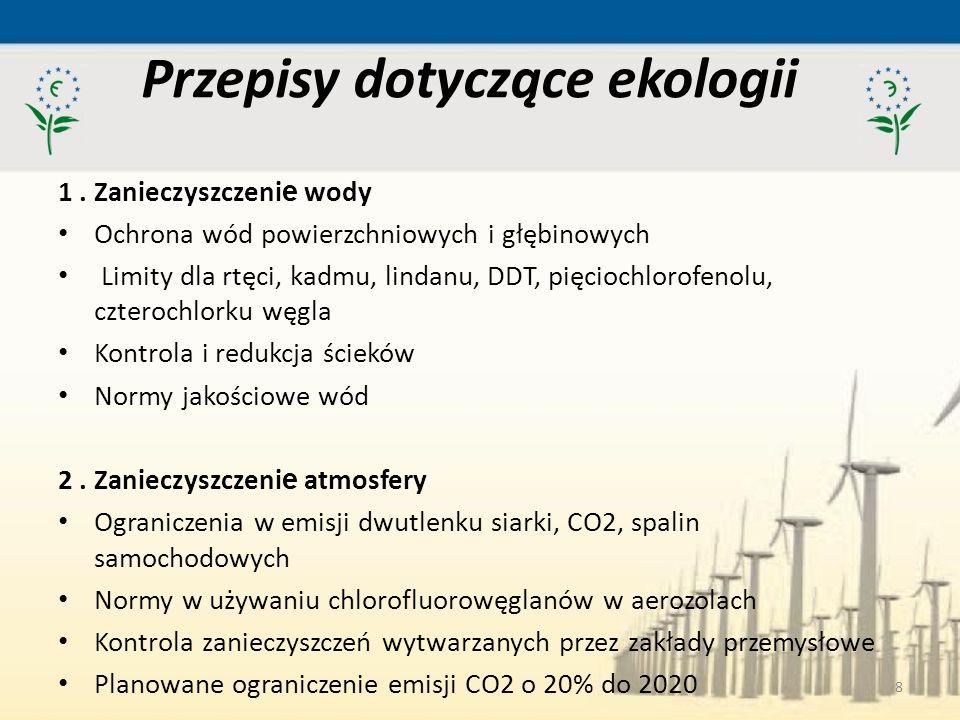 Przepisy dotyczące ekologii