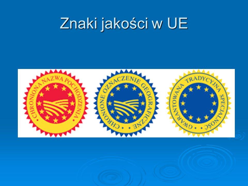 Znaki jakości w UE