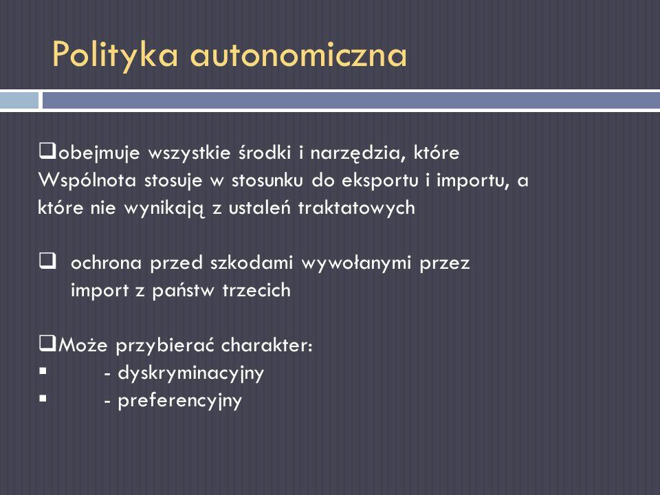 Polityka autonomiczna